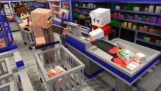 ЖИТЕЛЬ ОГРАБИЛ МОЙ МАГАЗИН В МАЙНКРАФТ 100% Троллинг Ловушка Minecraft