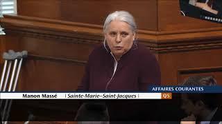 Manon Massé souligne la fête nationale