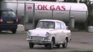 Old start cold start 1961 ford anglia - holland Davidsfarmison[bliptv]now