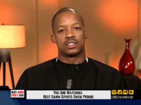 Steve Francis interview in 2005 on the Best Damn Sports Show Period