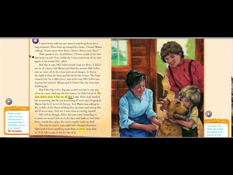 old yeller comprehension questions and answers