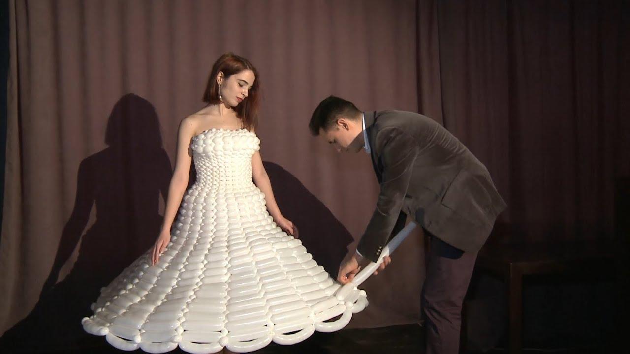 Хуан Сепулведа и его платья из воздушных шариков (ЛИЦА УЛИЦ)