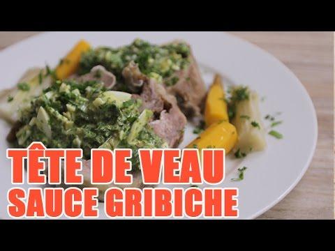 Recette de la t te de veau l 39 ancienne sauce gribiche - Recette de cuisine blanquette de veau ...