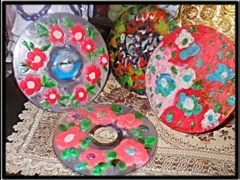 Cd S And Clay Crafts Ideas Youtube