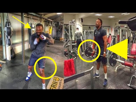 DYLAN WHITE vs DEREK CHISORA II TRAINING SIDE BY SIDE HIGHLIGHTS | Dillian White workout