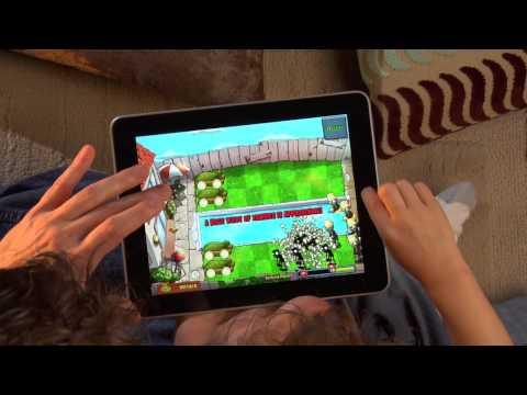 PvZ IPad: Multi-Touch Fun