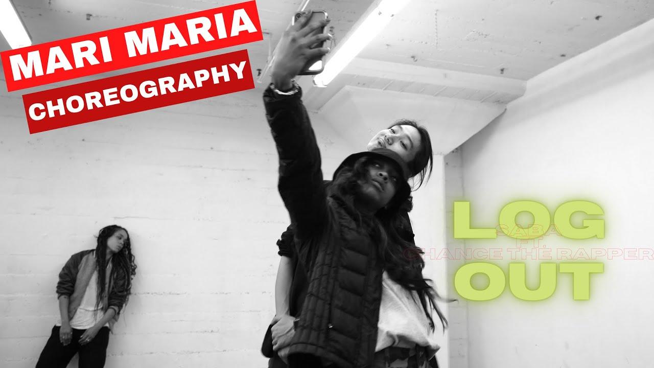 "Saba ft. Chance The Rapper ""LOGOUT""  Choreography Mari Maria"
