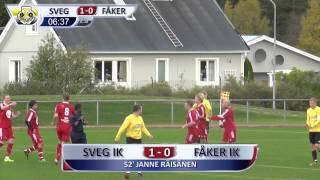 Sammandrag av Svegs IK  - Fåkers IK (1-0)