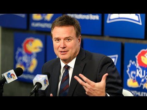 Bill Self KU Media Day Press Conference // Kansas Men's Basketball // 10.13.16
