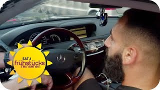 Mercedes AMG & extra lauter Auspuff: Was soll das Auto-Gepose? | SAT.1 Frühstücksfernsehen | TV