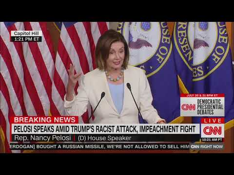 Pelosi defends 'benign' resolution condemning Trump tweets as racist