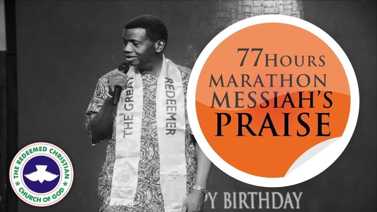 77 HOURS MARATHON MESSIAH'S PRAISE 2019 - YouTube