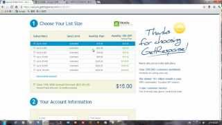 如何註冊電子郵件行銷系統(GetResponse)