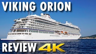 Viking Orion Tour & Review ~ Viking Ocean Cruises ~ Cruise Ship Tour & Review [4K Ultra HD]