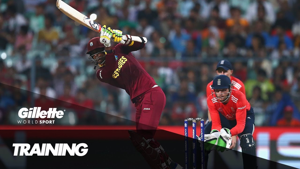 Big Hitting With The West Indies Cricket Team Gillette World Sport