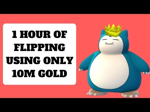 1 Hour Of Flipping Using 10m! How Much Did We Earn? Runescape