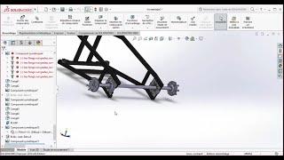 سوليدووركس التعليمي : إنشاء كارت N°6 / إطار الجمعية مع اثنين من العجلات
