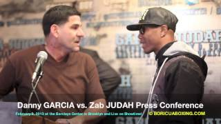 Angel & Danny Garcia BRAWL with Zab Judah - What You Didn't See or Hear! (720HD) BoricuaBoxing.com