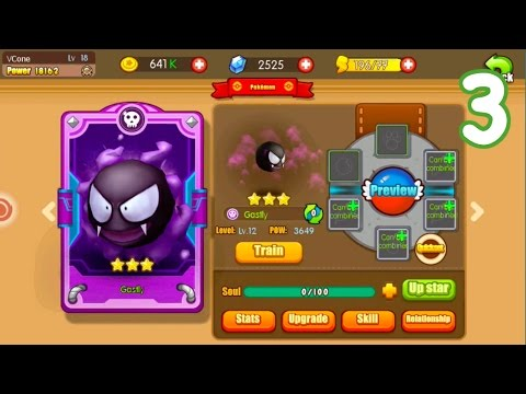 Pocket House 3D (Monster King 3D) - NEW POKEMON GASTLY + CHAPTER 5 CLEARING!