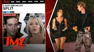 G-Eazy and Halsey Call It Quits | TMZ TV