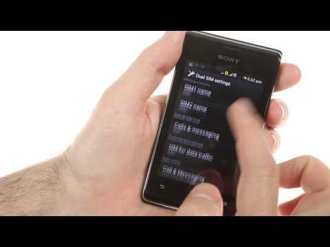 Sony Xperia E dual user interface