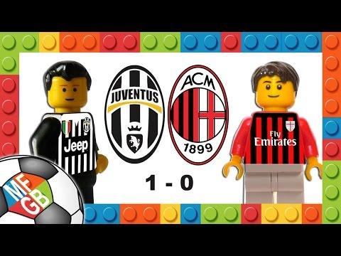 JUVENTUS-MILAN 1-0 Lego Calcio Serie A 2015/16 - Goal Dybala Goal - Highlights E Sintesi 21/11/2015