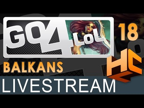 Finale ESL Go4LoL Balkans #18: Team Reject vs Nexus Gaming | HCL