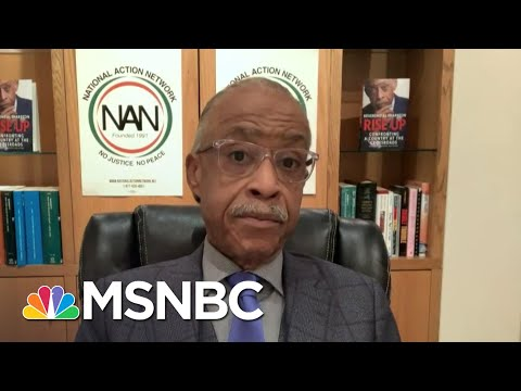Sharpton Says Biden Was 'Very Receptive' In His Meeting With Civil Rights Groups | Deadline | MSNBC