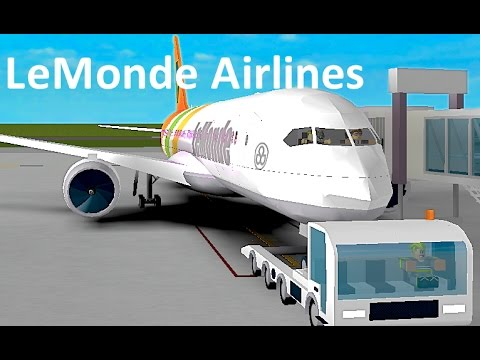 ROBLOX | LeMonde Airlines Boeing 787-8 Flight