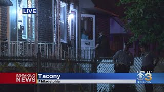 Woman Shoots 2 Kids, Husband In Tacony Section Of Philadelphia, Police Say