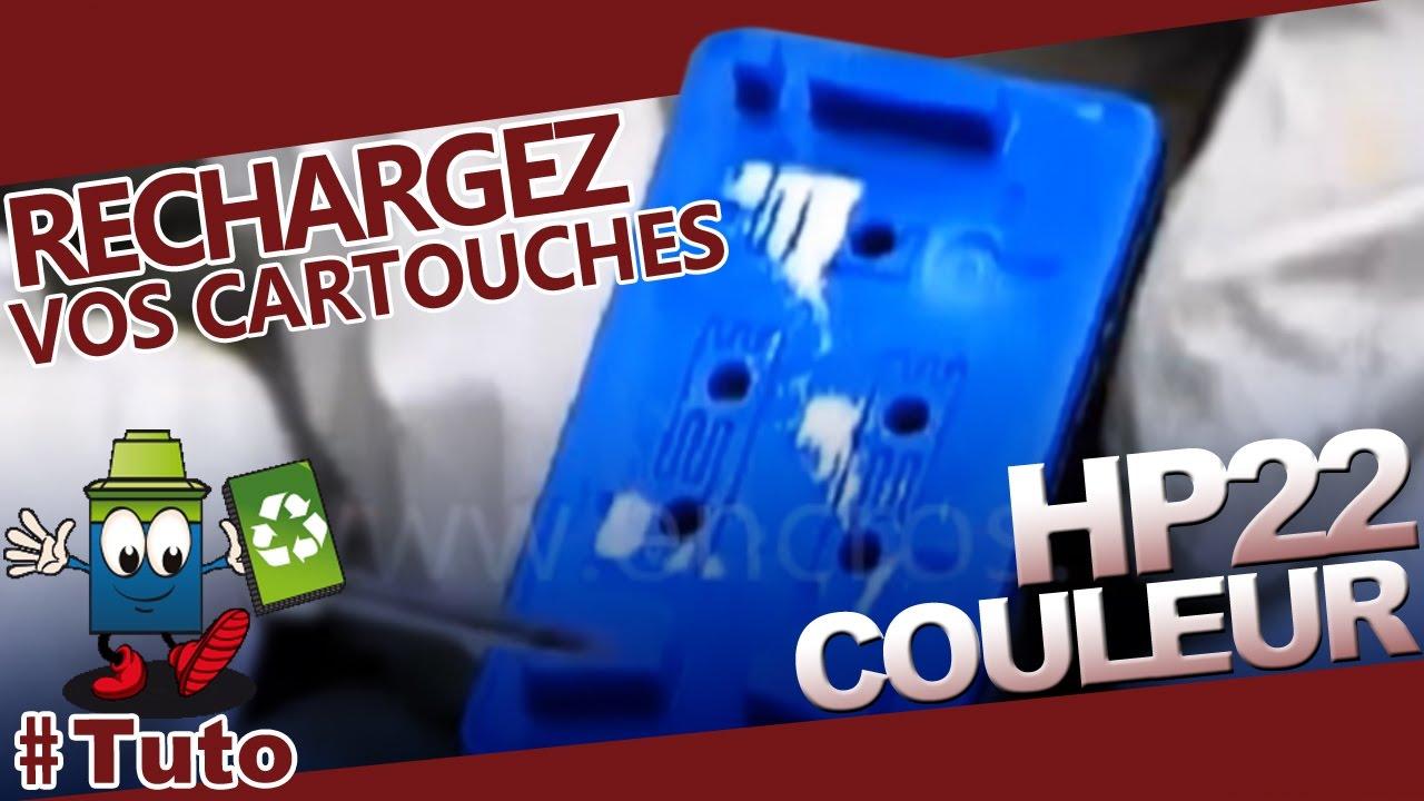 hp 22 cartouche hp22 couleur bien recharger la cartouche. Black Bedroom Furniture Sets. Home Design Ideas