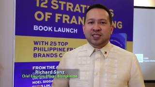 Richard Sanz (Bibingkinitan) Tips for Franchisors