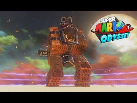 Super Mario Odyssey Showdown At Bowser S Castle Bowser S Kingdom