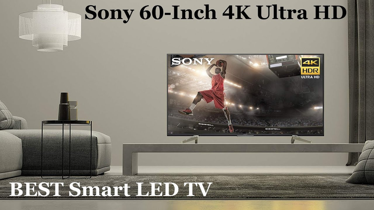 Sony XBR60X830F 60-Inch 4K Ultra HD Smart LED TV 2018 Model