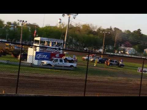 Xcel 600 Mod Heat and Feature - Fayette County Speedway - 5/5/17 (Grandstand view)