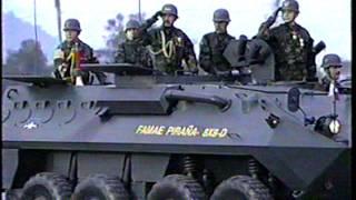 Parada Militar 1991 Chile-Ejército de Chile