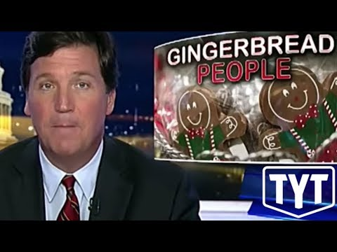 Tucker Carlson's Hilarious Freakout Over Gingerbread Person