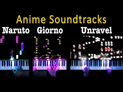 5 Levels Of Anime: Giorno To Unravel (Piano)
