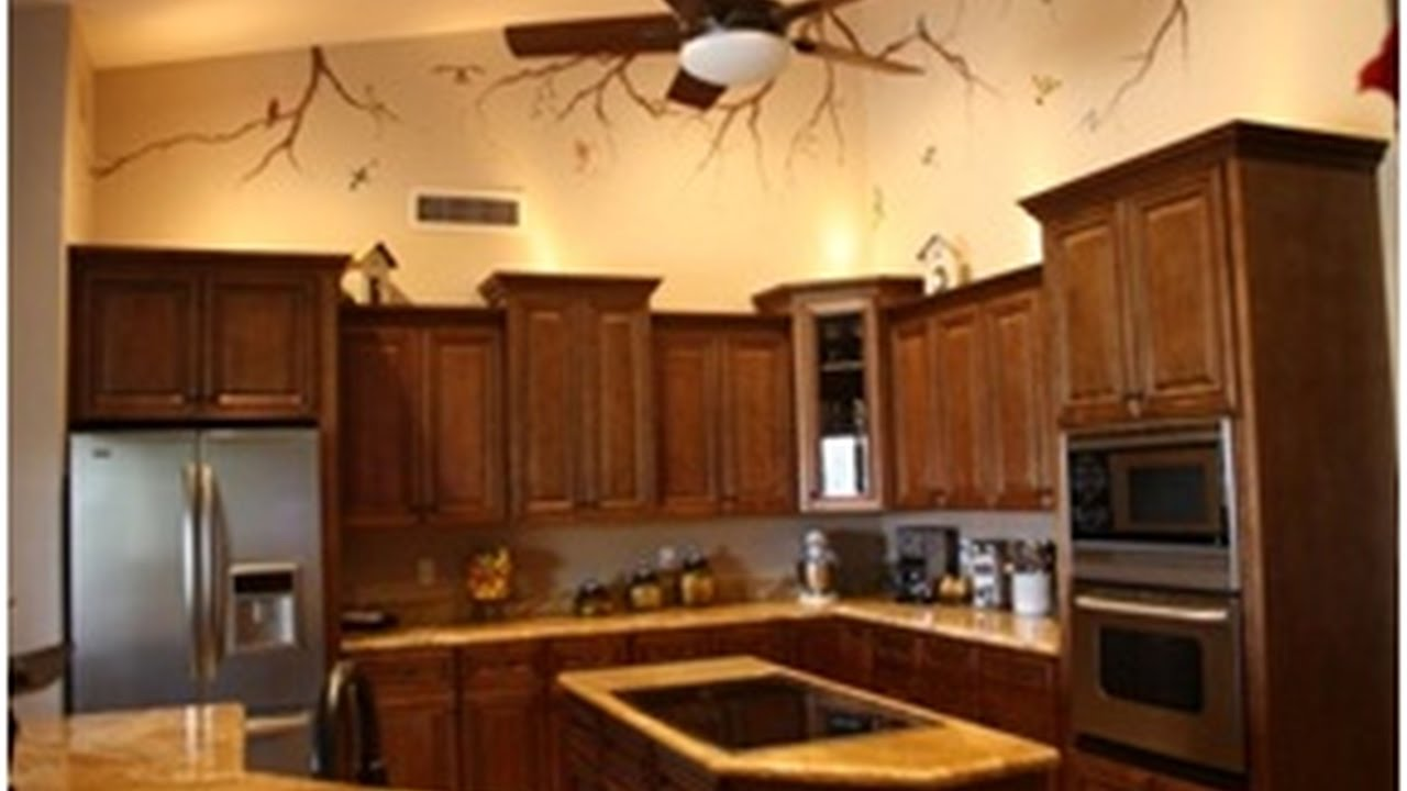 Restaining Kitchen Cabinets Lighter Amusing Restaining Kitchen Cabinets Lighter  Youtube Design Ideas
