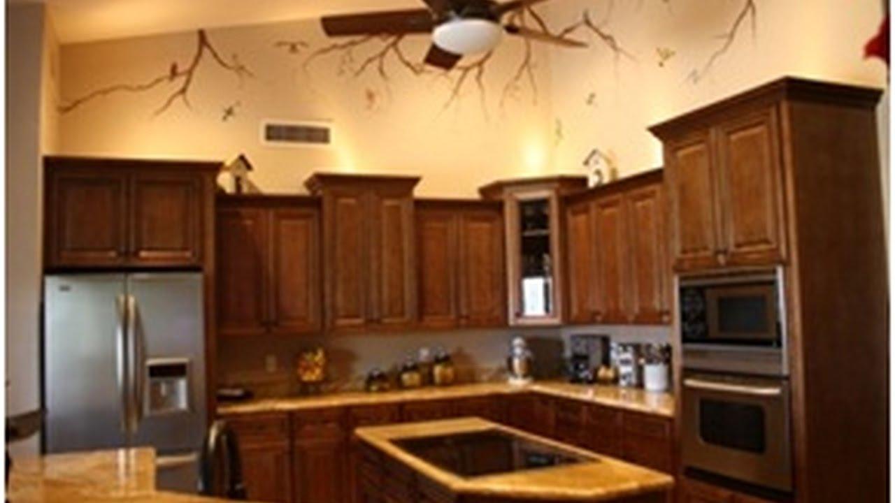 Restaining Kitchen Cabinets Lighter - YouTube