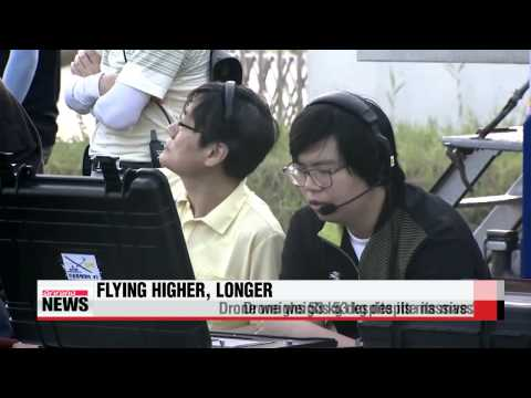KARI′s solar-powered drone completes first stratospheric flight   국산 태양광 무인기, 성층
