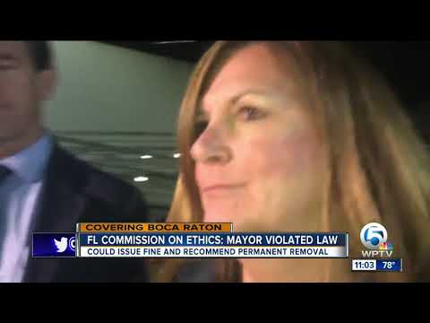 State ethics commission finds ex-Boca Raton mayor violated ethics laws 8 times