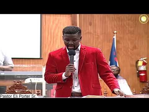 COGTB PRESENTS THE 2018 LOVE, JOY, &  FEAST - Pastor Eli Porter Sr.