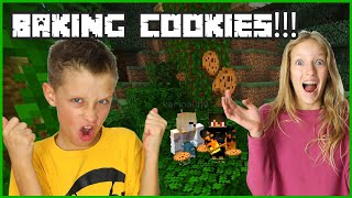 MAKING A BUNCH OF COOKIES WITH KARINA!!!