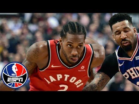 Kawhi Leonard's 36 points propels Raptors to big win over 76ers | NBA Highlights