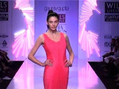 Gaurav Gupta Wills Lifestyle India Fashion Week Spring Summer 2013