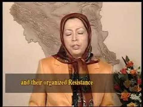 Demonstration for democratic change in Iran (2006)