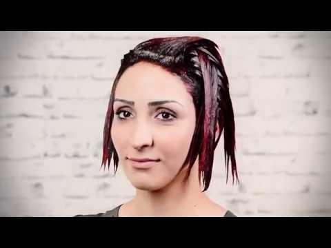 Колорирование волос в домашних условиях на темные волосы