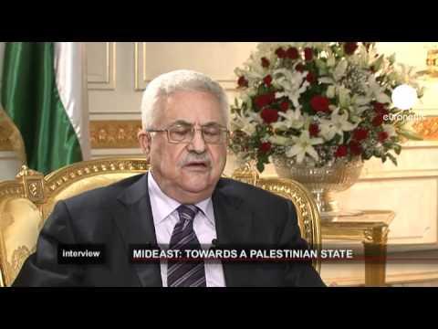 euronews interview - EXCLUSIF - Mahmoud Abbas : nous saisirons les Nations...
