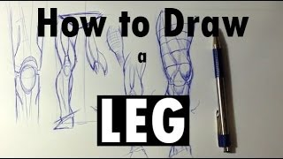 How to Draw a Leg - Easy Things To Draw